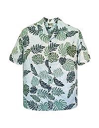 Aloha Republic 男士卡波利经典热带夏威夷衬衫