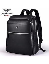 卓梵 阿玛尼 男士 双肩包 背包 男包 PU皮 时尚 潮 书包 大学生 休闲包 电脑包 高品质
