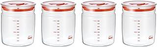 iwaki 怡万家 透明密封保鲜罐 1L KB7002M-R