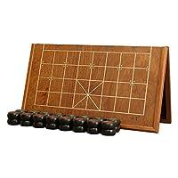 中国象棋-黑檀木实木象棋-折叠棋盘套装-御圣