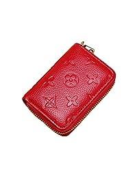 女士 RFID 屏蔽信用卡包钱包男士皮革多拉链钱包