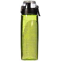THERMOS 膳魔师 24 盎司/约680.39克 Tritan 计量饮水瓶, 绿黄色