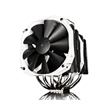 Phanteks CPU Cooler with 5 x 8mm Dual Heat-pipes, 140mm Premium Fans and PWM Adaptor, Patented P.A.T.S Coating, PH-TC14PE_BK (Black)