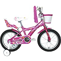 """umit J1651儿童自行车 , 女孩 , 粉色 , 16 """""""