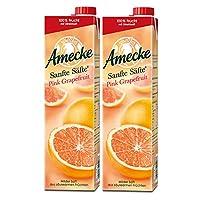 Amecke 爱美可 原装鲜榨葡萄柚西柚果汁1L*2(德国进口)