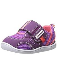Tsukihoshi Baby 81 Fashion Sneaker (Toddler), Purple/Coral, 7 M US Toddler