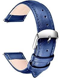 SONGDU Analog 皮革 蓝色 LB-20-Blue 表带