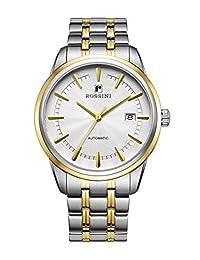 ROSSINI 罗西尼 自动机械男士手表 5665T01B(亚马逊自营商品, 由供应商配送)