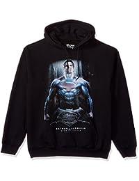 Trevco Men's Batman Vs. Superman Ground Zero Hoodie Sweatshirt