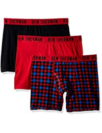 BEN Sherman 男士3件装平角内裤 brief-bsm1102us