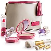 Litti Pritti 女装化妆品套装 - 8 件化妆品套装 - PU 皮套