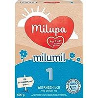 Milupa milumil 婴儿奶粉 1段(适用于初生婴儿),600g
