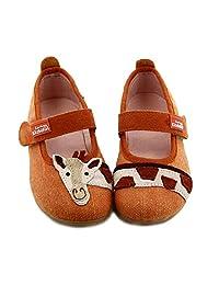 Living Kitzbühel 女孩芭蕾舞长颈鹿低帮拖鞋