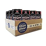 High Brew Cold Brew Coffee 黑咖啡 味道浓郁, 每罐227.2毫升 (12罐)