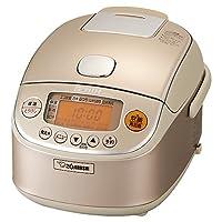 象印魔法瓶 | | 日本原装版 3合 压力IH 适用100V电压 炊饭器 电饭煲 电饭锅 NP-RK05-NZ,需配变压器
