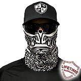 波利尼西亚部落 SA 公司面罩/环巾 / 围巾/Bandana / Balaclava。 钓鱼面罩 多种设计可供选择 真正的多功能头饰/围巾。 SPF 40。 Outdoor Activity Face Mask (钓鱼、跑步、骑自行车、摩托车、散步、骑行等)