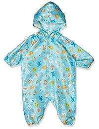 [面包超人] 雨衣连体衣 IA1929,面包超人全图案雨衣 儿童 IA1929 蓝色 80