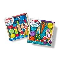 Melissa & Doug 粘土游戏套装 - 带造型工具和8个造型模具