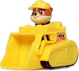 PAW PATROL 汪汪队立大功 收藏版救援赛车系列玩具 小号 挖掘机+小砾 (供应商直送)
