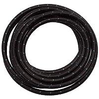 Edelbrock 632163 黑色布软管 #10,6 英尺