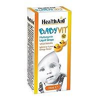 HealthAid Baby Vit 25ml Vegetarian Drops
