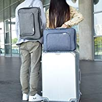 Prointxp普智 旅行包 商务便捷手提包 拉杆包 行李袋 旅行收纳袋 大容量短途收纳包 (灰色)