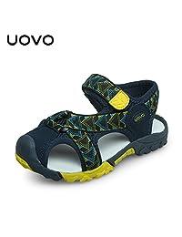 UOVO 优沃 中性童户外运动凉鞋包头护脚魔术贴沙滩鞋【请参照图片中的尺码表选购】