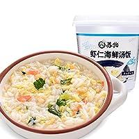 SUBO 苏伯 虾仁海鲜汤饭40g 速食冻干即食食品 速食粥饱腹早餐粥