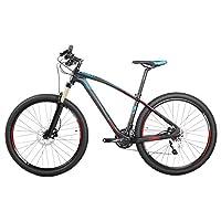 ZGL碳纤维山地自行车30速禧玛诺M610竞技越野车碟刹变速单车G318
