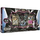 Pokemon TCG Necrozma 高级收藏雕像套装,Dawn Wings,特点是2个铝箔促销卡,5个增大套装,超大卡,动作公仔,针和在线代码卡
