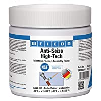 WEICON 26100045 防卡住高科技组装粘贴剂 450g 防腐蚀保护,无金属,白色