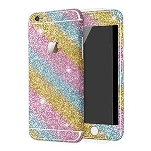 Furivy Bling 贴纸 适用于苹果 iPhone 6s(4.7 英寸)奢华闪耀全身贴花闪光保护膜 适用于 iPhone 6sI6s4.7Bling-Colorful iPhone 6s Colorful