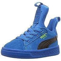 PUMA 中性儿童麂皮纤维专利块 Ac 运动鞋