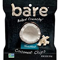 Bare Baked Crunchy Coconut, Toasted, 0.53oz (16Count), 8.48 Oz
