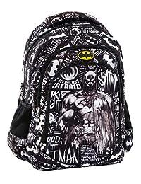 Graffiti 蝙蝠侠书包,44 厘米,黑色