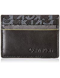 Calvin Klein 卡尔文·克莱恩 Ck Mono Cardholder 信用卡套 7.8x1.2x11 厘米