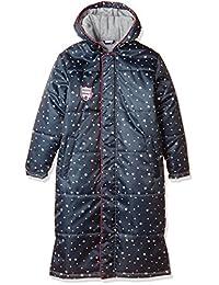 A.D.ONE 青少年 长款外套 棉夹克 运动外套 长款外套 保暖