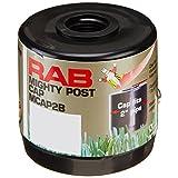 RAB Lighting MCAP2B Mighty Post 帽子 适用于 5.08 厘米灯管,直径 6.03 厘米 x 高 6.99 厘米,黑色 黑色 2组 43216-492