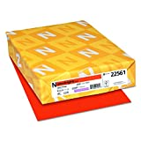 Neenah Astrobrights Premium Color Paper, 24 lb, 8.5 x 11 Inches, 500 Sheets