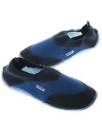 Cressi 科越思 男式 CORAL BLUE/AZURE沙滩鞋滑水鞋源自意大利 VB950737 蓝色/天蓝色 37(亚马逊自营商品, 由供应商配送)