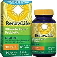 Renew Life 50歲以上成人益生菌,Ultimate Flora,300 億,30 粒