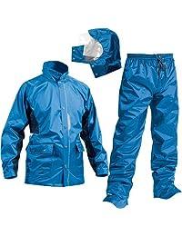 McSEE 7 亮点 共2种颜色 5种尺寸 防雨衣 上下 防水 2层 止水胶带 水蓝色 EL AS-5800
