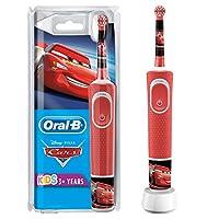 Oral-B 欧乐B 儿童电动牙刷 迪士尼 汽车总动员图案,带贴纸,适合3岁以上儿童