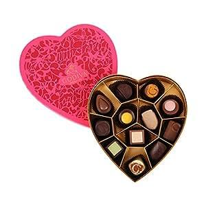 GODIVA 歌帝梵 心心相印巧克力礼盒12颗装 135g(比利时进口)(亚马逊自营商品, 由供应商配送)