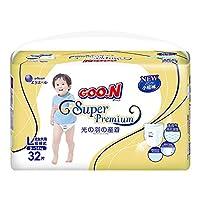GOO.N 大王 光羽系列 短裤式纸尿裤 尿不湿 L32片(适合9-14kg )