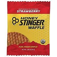 Honey Stinger Organic Waffle, Strawberry, 1.06 Ounce (Pack Of 16)