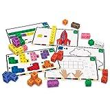 Learning Resources 早期数学连接魔方活动套装,115 件