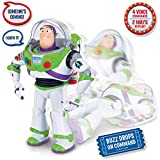 Toy Story 4 — Buzz Lightyear with Interactive Drop-Down Action