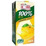 汇源100%橙汁1Lx12盒