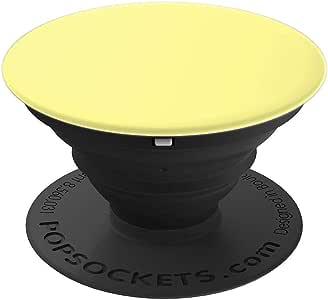 浅黄色波塞 - PopSockets 手机和平板电脑抓握支架260027  黑色